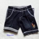 POLO : กางเกงยีนส์ขาสั้น size 6 ( 6-8y)
