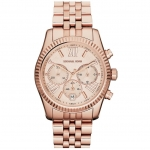 นาฬิกาข้อมือ Michael Kors รุ่น MK5569 Michael Kors Ladies Chronograph Rose Gold Bracelet Watch MK5569 Size 38 mm