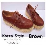 รองเท้าสไตล์เกาหลี