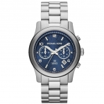 นาฬิกาข้อมือ Michael Kors รุ่น MK5814 Michael Kors Hunger Stop 100 Series Silver Bracelet Watch MK5814 Size 38 mm