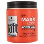 ทัฟท์ ลุคส์ แม็กซ์ ลุค พาวเวอร์แว็กซ์ Taft Looks Maxx Look Power Wax (แต่งทรงซ้ำได้ อยู่ทรงนานเต็มแม็กซ์) 85 มล.