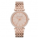 นาฬิกาข้อมือ Michael Kors MK3439 Michael Kors Darci Crystal Pave Rose Gold-Tone Stainless Steel