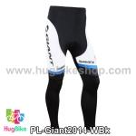 กางเกงจักรยานขายาวทีม Giant 14 สีขาวดำ สั่งจอง (Pre-order)