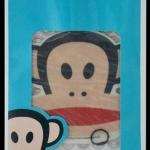 แผ่นน้ำหอม Julius Vanilla Paul Frank (smile ยิ้ม)