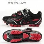 รองเท้าจักรยานเสือภูเขา TIEBAO รุ่น TB10-B717 สีดำแดง สั่งจอง (Pre-order)