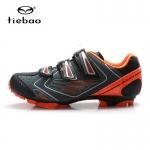รองเท้าจักรยานเสือภูเขา TIEBAO รุ่น TB35-B1521 สีเทาส้ม