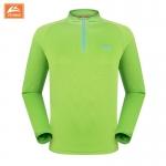 เสื้อจักรยานเสื้อกีฬา แขนยาวผู้ชาย VeoBike สีเขียว