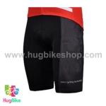 กางเกงจักรยานขาสั้นทีม BMC 15 (04) สีดำแดง