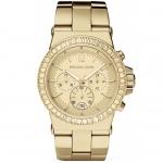 นาฬิกาข้อมือ Michael Kors MK5861 MICHAEL KORS Watch,Michael Kors Gold-Tone Glitz Dial Dylan