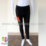 กางเกงจักรยานขายาว ALE 16 (16) สีขาวดำส้ม