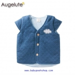 **Angelute** เสื้อกั๊ก สีน้ำเงิน เนื้อผ้านุ่ม
