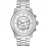 นาฬิกาข้อมือ Michael Kors รุ่น MK8086 Michael Kors Silver Runway Watch MK8086 Size 45 mm