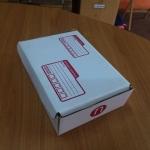 กล่องไปรษณีย์ ไดคัท เบอร์ ก ขนาด 20 X 14 X 6 cm. ใบละ 4.8 บาท
