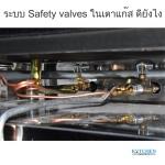ระบบ Safety valves ในเตาแก๊สดียังไง