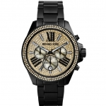 นาฬิกาข้อมือ Michael Kors MK5961 Michael Kors Black Glitz Wren Watch