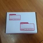 กล่องไปรษณีย์ ไดคัท เบอร์ ข ขนาด 25 X 17 X 9 cm. ใบละ 6.8 บาท