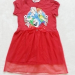 H&M : เดรส Frozen กระโปรงตาข่าย สีแดง size : 4-6y / 6-8y / 8-10y