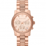 Michael Kors Chronograph Dial Rose Gold-tone Ladies Watch MK5827 นาฬิกาข้อมือ Michael Kors MK5827