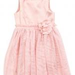 H&M : ชุดเดรสสีชมพู รุ่น Sleeveless Dress (งานช้อป) size 2-4y / 6-8y / 8-10y