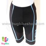 กางเกงจักรยานผู้หญิงขาสั้น ALE 16 (04) สีดำฟ้า