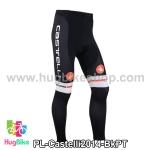 กางเกงจักรยานขายาวทีม Castelli 14 สีดำลาย สั่งจอง (Pre-order)