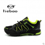 รองเท้าจักรยานเสือภูเขาแบบผ้าใบ TIEBAO รุ่น TB22-B1323 สีดำเขียว สั่งจอง (Pre-order)