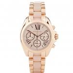 นาฬิกาข้อมือ Michael Kors รุ่น MK6066 Michael Kors Bradshaw Rose Gold Watch MK6066 Size 35 mm