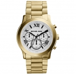 นาฬิกาข้อมือ Michael Kors MK5916 Michael Kors Women's Cooper Gold-tone Tone Chronograph Watch MK5916 Size 39 mm