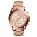 นาฬิกาข้อมือ Michael Kors รุ่น MK5503 Michael Kors Roman Numeral Rose Gold Watch MK5503 Size 43 mm