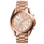 นาฬิกาข้อมือ Michael Kors รุ่น MK5503 Michael Kors Roman Numeral Rose Gold Watch MK5503 Size 43 mm