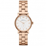 นาฬิกาข้อมือ Marc Jacobs MBM3248 Baker Mini Rose Gold-Tone Watch