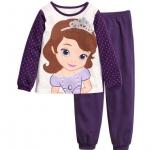 babyJoe : ชุดนอน แขน ขา ยาว พิมพ์ลาย เจ้าหญิงโซเฟีย สีม่วง size 2T