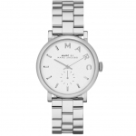 นาฬิกาข้อมือ Marc Jacobs MBM3242 Baker Silver-Tone Watch
