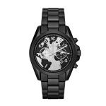 นาฬิกาข้อมือ Michael Kors MK6271 Watch Hunger Stop Oversized Bradshaw 100 Black-Tone Watch