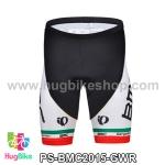 กางเกงจักรยานขาสั้นทีม BMC 15 สีเขียวขาวแดง สั่งจอง (Pre-order)