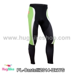 กางเกงจักรยานขายาวทีม Castelli 14 สีดำขาวเขียว สั่งจอง (Pre-order)