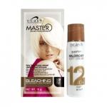 ฟอกสีผม ดีแคช มาสเตอร์ Master Bleaching Powder สีขาว 15 g. + ครีมผสมครีมย้อมผม มิลล์ร็อกซี่ ซอฟท์ ครีม 12% 60 ml.
