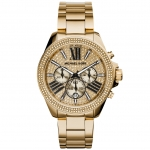 นาฬิกาข้อมือ Michael Kors MK6095 Michael Kors MK6095 Ladies Gold Wren Chronograph Watch