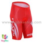 กางเกงจักรยานขาสั้น ประกอบภาพยนต์ To The Fore สีแดง