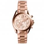 นาฬิกาข้อมือ Michael Kors MK5799 Michael Kors Bradshaw Chronograph Rose Dial Rose Gold-tone