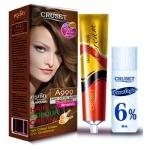ครูเซ็ท ครีมย้อมผม รุ่น A เอ 999 สีกาแฟเข้ม Cruset Hair Colour Cream A Series A 999 Dark Coffee Blond ml.