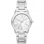 นาฬิกาข้อมือ Michael Kors MK3489 MICHAEL KORS Hartman Stainless Steel 3 Hand Watch