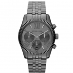 นาฬิกาข้อมือ Michael Kors รุ่น MK5709 Michael Kors Women's Lexington Gunmetal Chronograph Black Tone Watch MK5709 Size 38 mm