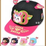 หมวกแฟชั่น ลายน่ารัก มีปีก