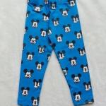 H&M : เลกกิ้ง ลายมิกกี้เต็มตัว สีฟ้า Size 4-6y / 6-8y / 8-10y