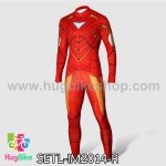 ชุดจักรยานแขนยาว Iron Man 14 สีแดง สั่งจอง (Pre-order)
