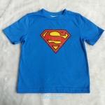 เสื้อยืดลาย Superman สีน้ำเงิน size 5-6y / 8-9y