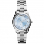 นาฬิกาข้อมือ Michael Kors MK6068 Michael Kors Colette Blue Dial Stainless Steel Ladies Watch