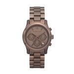 นาฬิกาข้อมือ Michael Kors MK5492 Runway Mid-size Brown Unisex Watch Size 38 mm