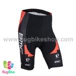 กางเกงจักรยานขาสั้นทีม BMC 16 (01) สีแดงดำ
